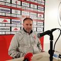 Verso Cittanovese-Bari, Cornacchini: «Bel gioco? Mi piacerebbe ma preferisco risultati. Occhio al campo»