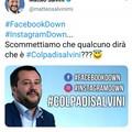 Facebook, Instagram e Whatsapp down? Lotta per le colpe tra Salvini e Decaro