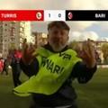 """Insultò i tifosi del Bari davanti alle telecamere, daspo per lo steward della Turris  """"Malatella """""""