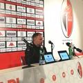 Bari-Gela 2-1, Cornacchini: «Abbiamo voluto questa vittoria dopo una settimana complicata»