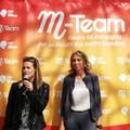 Tania Cagnotto a Bari per la prevenzione della meningite infantile: «Sport importante per la salute»