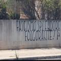 Ricompaiono le scritte fasciste. Stavolta in viale Europa