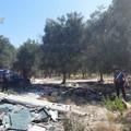 Roghi a Carbonara, denunciato un rumeno mentre bruciava rifiuti