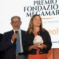"""Eleonora Marangoni con  """"Lux """" vince la quarta edizione del premio Megamark"""