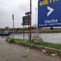 Piove a Bari, strade allagate e sottopassi chiusi