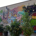 Street art contro il degrado nel mercato di piazza Mazzini a Bari