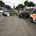 Bari, incidente in via Napoli. Tre auto coinvolte