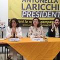 Crimi e Catalfo lanciano Laricchia: «Sarà la prima presidente donna in Puglia»