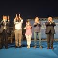 Salvini, Meloni e Tajani in piazza con Fitto: «Centrodestra unito per la Puglia»