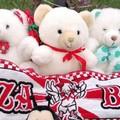 Bari-Turris, i peluche donati dai bimbi ospiti speciali in tribuna