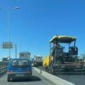 Bari, lavori in tangenziale, traffico nel caos in tarda mattinata