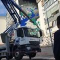 QM San Paolo, il primo murales comincia a prendere vita