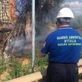 Weekend di fuoco a Bari, due incendi al San Paolo e in zona aeroporto
