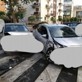 Bari, scontro fra auto a Japigia. Traffico deviato