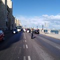 Incidente sul lungomare di Bari, traffico in tilt