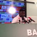FC Bari, parola a Cissé: «Noi squadra forte. Fuori casa un po' di sfortuna»