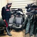 Nella sua officina smontava auto rubate, denunciato 52enne a Bari