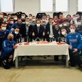 SSC Bari, il presidente compie 42 anni festa negli spogliatoi