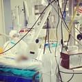 Bari, al Policlinico la prima visita di un parente in terapia intensiva Covid
