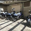Bari, dieci nuove moto per la polizia locale, la benedizione a San Nicola