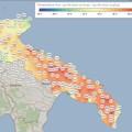 Continua il caldo sulla Puglia, a Bari e Lecce sfiorati i 40°