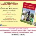 """Christian Montanaro presenta il suo libro """"L'allenatrice"""""""