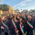 A Foggia la manifestazione contro la mafia, Decaro: «Tutta la Puglia è con questa città»