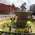 Al via gli interventi di manutenzione delle fontane cittadine