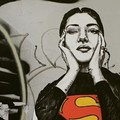 Bari, a Madonnella spunta la supereroina Maria Callas