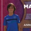 """Asd Levante Azzurro, il giovane Mattia Pica da Bari a Barcellona per uno stage con i  """"blaugrana """""""