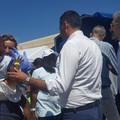 Nuovo sbarco di migranti a Bari, tanti bambini piccoli