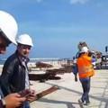 Waterfront San Girolamo, ripresi i lavori. Tutto pronto per l'estate 2018