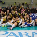 Vittoria schiacciante per Pharma Volley Giuliani Bari sulla Dannunziana Pescara