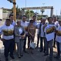 Grano canadese, protesta dei produttori al Porto di Bari