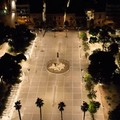 Piazza Umberto a Carbonara, terminati i lavori per il nuovo impianto di illuminazione
