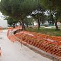 Pineta di San Luca, cantiere fermo e abbandonato