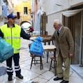 Tutti pronti per la raccolta dei rifiuti porta a porta
