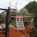 Parco 2 giugno a Bari, bar in ristrutturazione