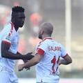 Salernitana-Bari 2-2, rimonta e controrimonta. Galano risponde a Rossi