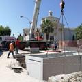 Bari, anche stanotte chiuso il sottopassaggio di Santa Fara per il montaggio delle pompe di aspirazione