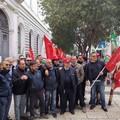 Sciopero dei portieri dell'Università di Bari, sit-in davanti all'ateneo
