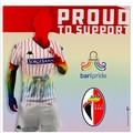 La SSC Bari supporta il Pride, gli organizzatori: «Prima società in Italia»