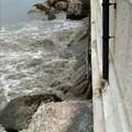 Pioggia e grandine su Bari, va in tilt la fogna