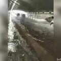 Bari, piove e il sottovia Quintino Sella si allaga