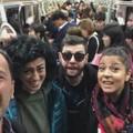 """Un pezzo di Bari sbarca a Seul, un  """"concerto """" in dialetto nella metro"""