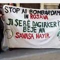 Bari, manifestazione di solidarietà per il popolo curdo nelle strade del centro