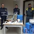 La GdF sequestra oltre 8 quintali di droga, nei guai un quarantenne del Libertà