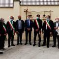 Gravina in Puglia, il ministro dell'Ambiente Costa in visita al parco dell'Alta Murgia