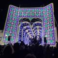 In Fiera del Levante lo spettacolo delle luminarie fra i padiglioni