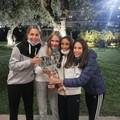 """Bari  """"capitale """" della racchetta, le ragazze del Circolo tennis campionesse d'Italia under14"""